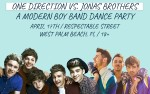 Image for BEST NIGHT EVER: ONE DIRECTION VS JONAS BROTHERS *Postponed from April 17th*