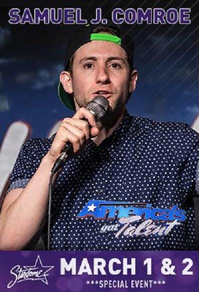 Samuel Comroe –From America's Got Talent Mar 1-2