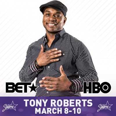 Tony Roberts from Showtime and BET's Comic View - May 31-June 2