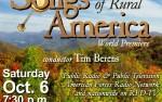 Image for SONGS OF RURAL AMERICA, OVS Oct. 6, 2018
