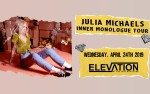 Image for  Julia Michaels - Inner Monologue Tour
