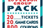 Image for 20-Person Group Value Pack 2018