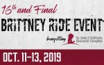 Image for Brittney Ride Event; October 11-13, 2019