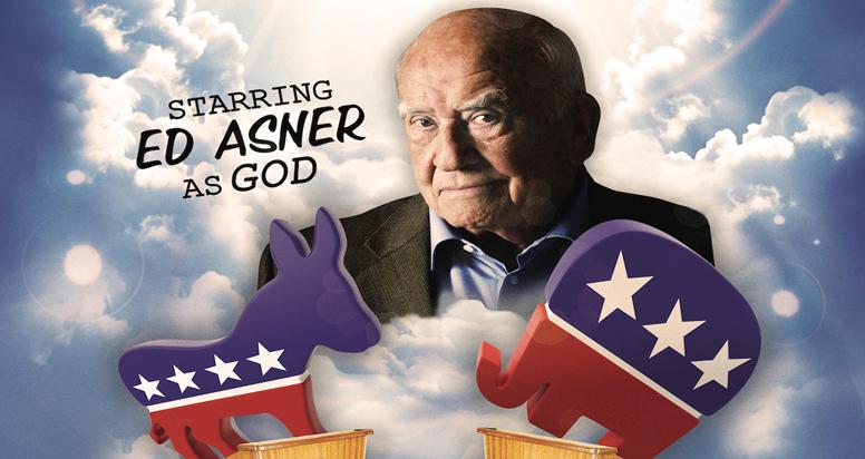 GOD HELP US! Starring Ed Asner
