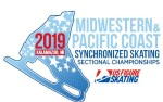 Image for 2019 US Figure Skating Midwestern & Pacific Coast Synchronized Skating Championships Saturday