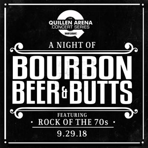 Image for BOURBON, BEER & BUTTS FEATURING THE ROCK OF THE 70'S: RARE EARTH & ATLANTA RHYTHM SECTION Concert Only