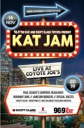 Image for 96.9 The Kat and Scott Clark Toyota present Kat Jam Benefiting St. Jude