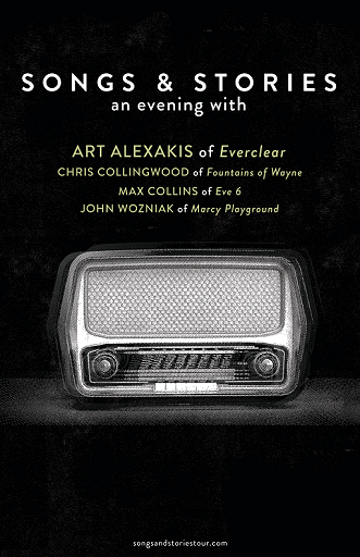 Image for Songs & Stories: An Evening With ART ALEXAKIS of Everclear and More, 21 & Over