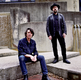 Image for DIMMER TWINS - PATTERSON HOOD & MIKE COOLEY OF DRIVE BY TRUCKERS, All Ages