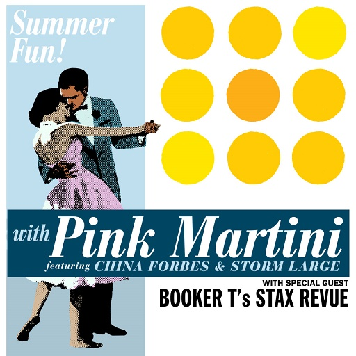 Image for Pink Martini featuring China Forbes & Storm Large plus Booker T's Stax Revue