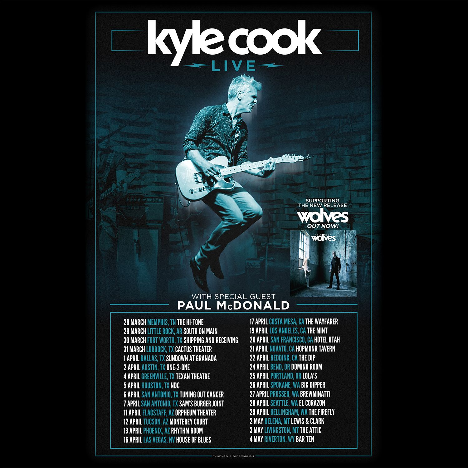 Image for KYLE COOK with special guest PAUL MCDONALD, All Ages