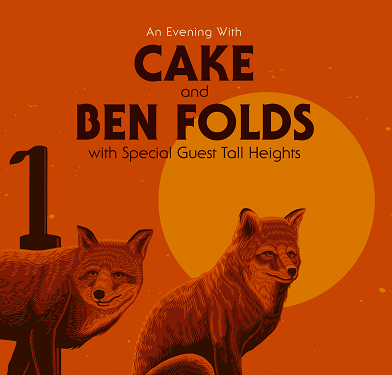 Image for CAKE + Ben Folds with special guests Tall Heights