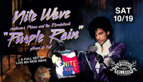 Image for NITE WAVE: PURPLE RAIN, 21+