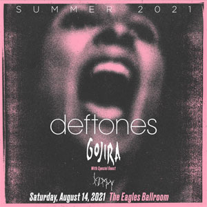 Image for Deftones Summer Tour 2021