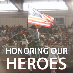 Image for RODEO Friday -  Honoring our Heroes 8-31-18  Evergreen State Fair Arena