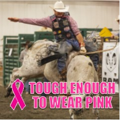 Image for RODEO Saturday - Tough Enough to Wear Pink 9-1-18 The Evergreen State Fair Arena