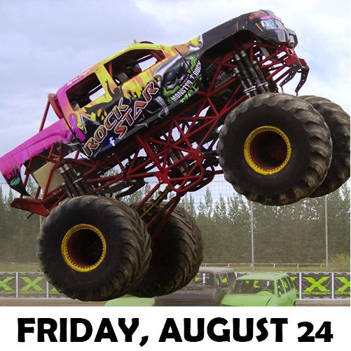 Image for MONSTER TRUCKS  Presented by FOX SPORTS 1380 KRKO -Monster Trucks and more plus Fireworks