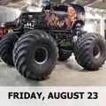 Image for FRI NIGHT MONSTER TRUCKS Presented by 98.9 The Bull-Monster Trucks and Fireworks @ Evergreen State Fair Fri, Aug 23, 2019 6:55p