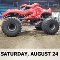 Image for SAT Monster Trucks & Racing Presented by CW11-Monster Trucks & Racing at the Evergreen State Fair Saturday, Aug 24, 2019 @ 5:55p