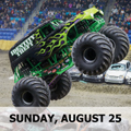 Image for SUN Matinee Show - Monster Trucks & Racing at the Evergreen State Fair Sunday, Aug 25, 2019 @ 2:55p