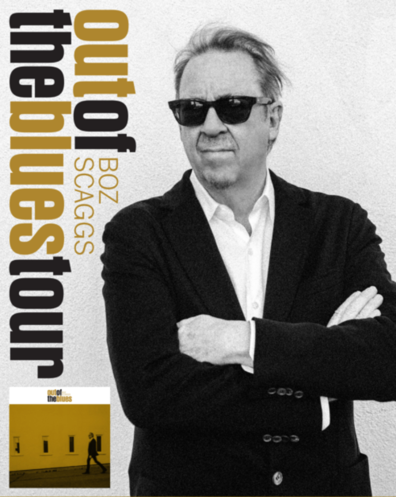 Image for BOZ SCAGGS:  OUT OF THE BLUES TOUR 2019