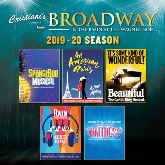 Image for 5 SHOW PACKAGE BROADWAY IN THE BASIN 2018-2019 SUBSCRIPTION