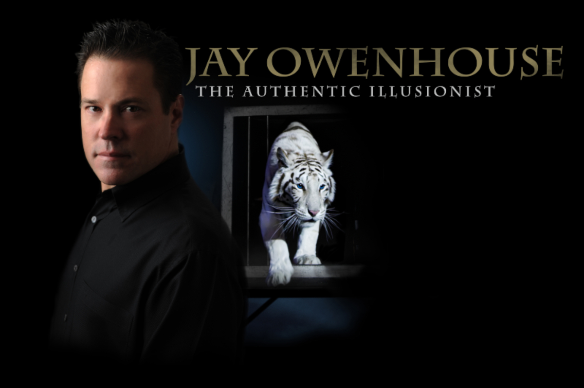 Image for JAY OWENHOUSE - THE AUTHENTIC ILLUSIONIST