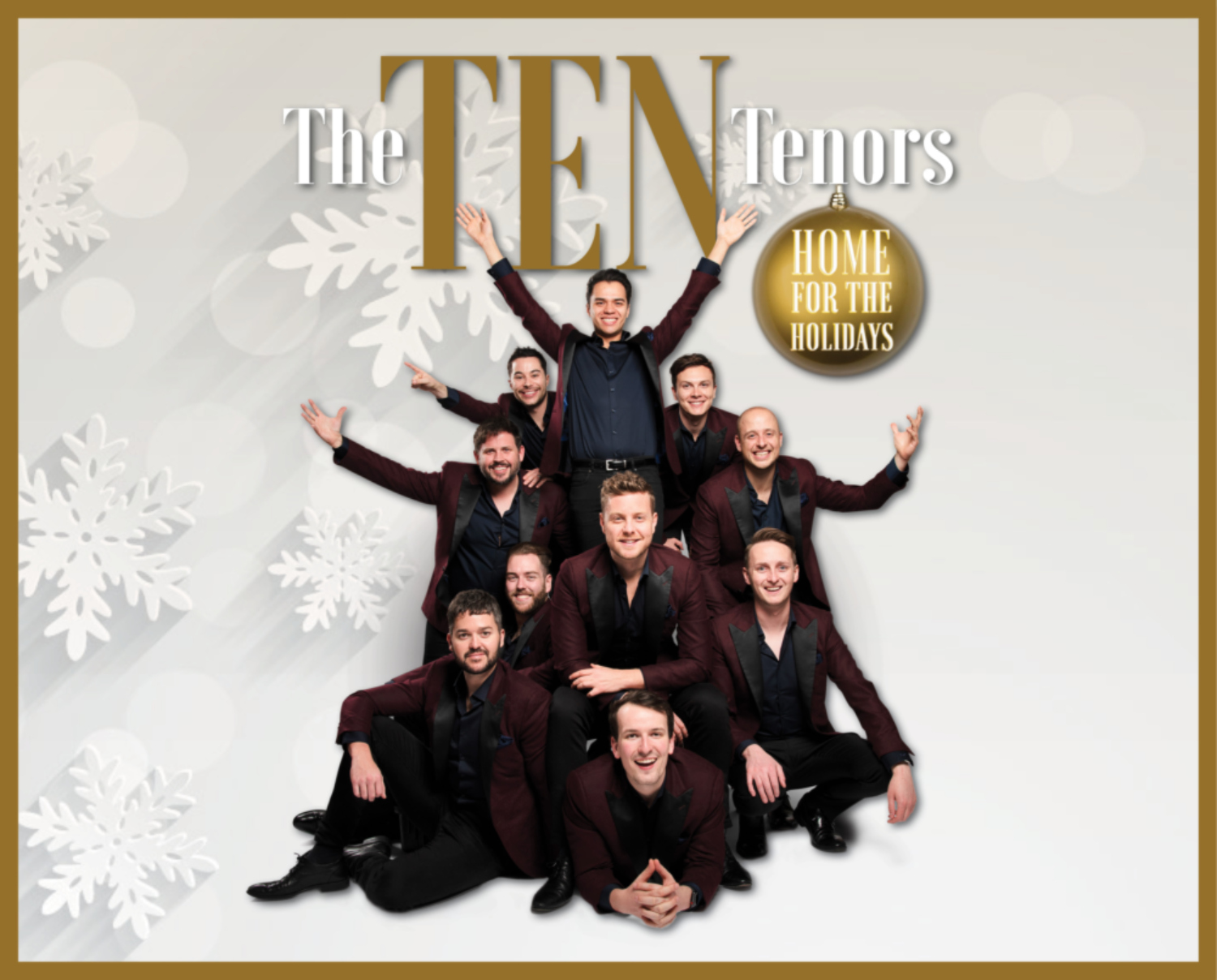 Image for THE TEN TENORS - HOME FOR THE HOLIDAYS - Fundraiser Concert Benefitting The Midland & Odessa Symphony & Chorale