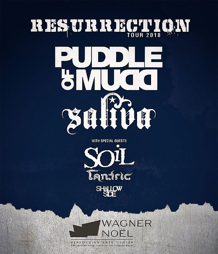 Image for RESURRECTION TOUR 2018: PUDDLE OF MUDD AND SALIVA