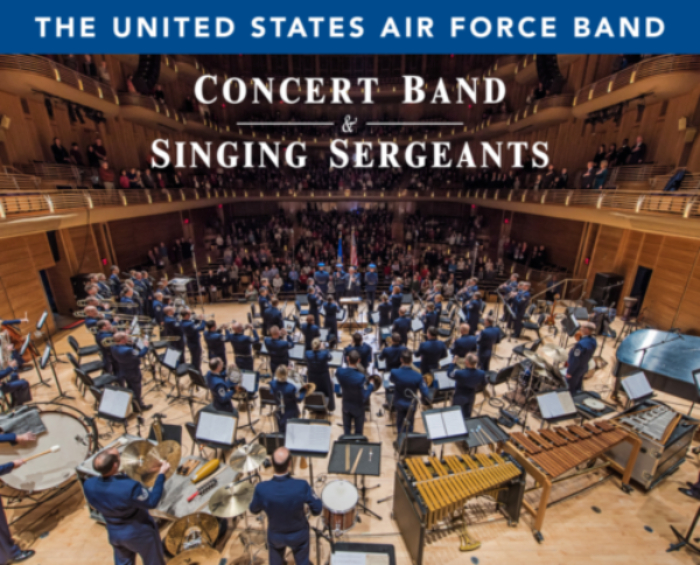 Image for THE UNITED STATES AIR FORCE BAND (CONCERT BAND & SINGING SERGEANTS)