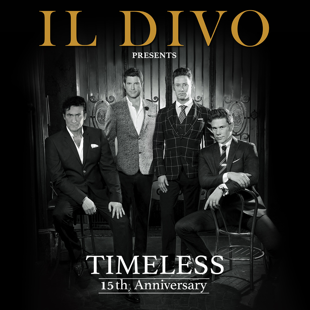 Image for IL DIVO:  TIMELESS TOUR