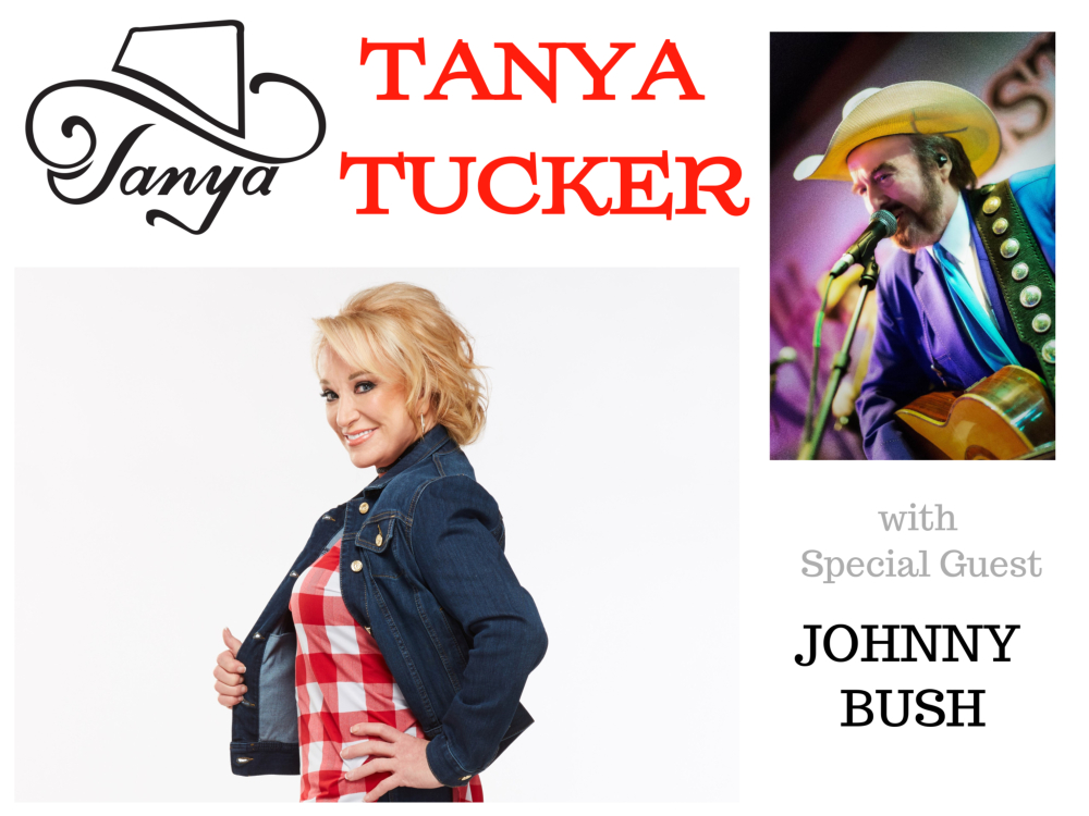Image for TANYA TUCKER with JOHNNY BUSH