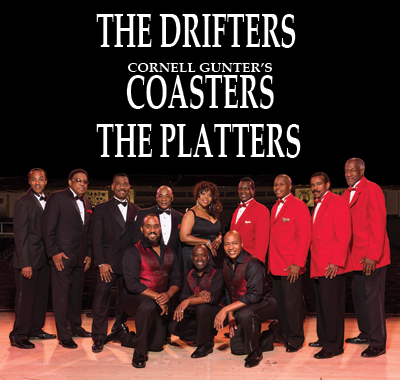 Image for THE DRIFTERS, CORNELL GUNTER'S COASTERS & THE PLATTERS