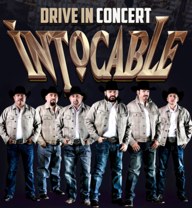 Image for INTOCABLE - DRIVE IN CONCERT - NEW DATE