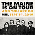Image for The Maine Live In Manila 2019*