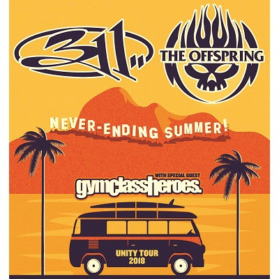 Image for 311 & The Offspring  Never-Ending Summer Tour
