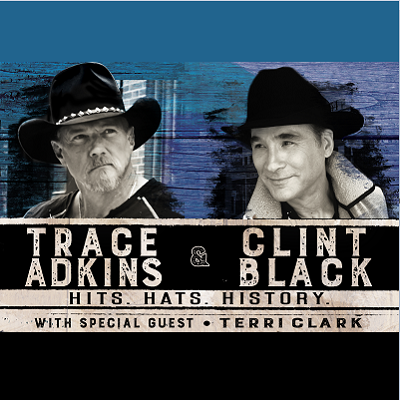 Image for Trace Adkins & Clint Black -  Hits. Hats. History.