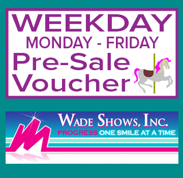 Image for Wade Show's Advance Sale Weekday (1-Day) Ride Voucher (Monday-Friday)