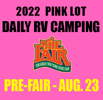 Image for Daily Camping (Valid 1 day only )- Pink Lot PRE FAIR- Tue, Aug 20, 2019