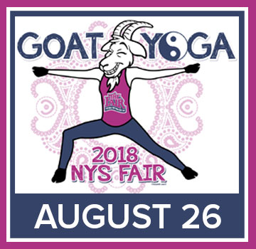 Image for Goat Yoga- 08/26/2018 09:00 AM**CANCELLED**