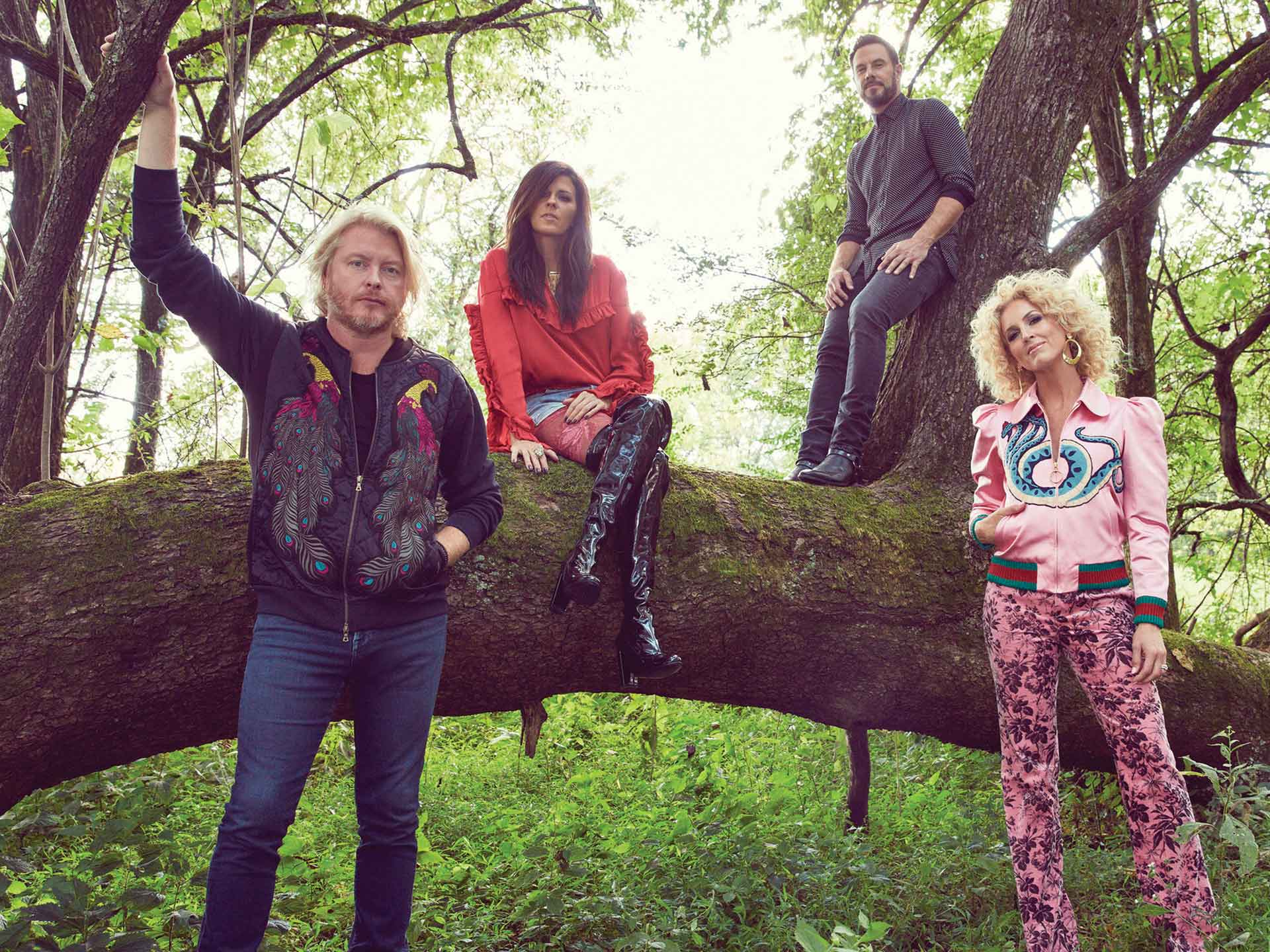 Image for LITTLE BIG TOWN wsg GAVIN DEGRAW and Trent Harmon - Saturday, July 7, 2018 (OUTDOORS)