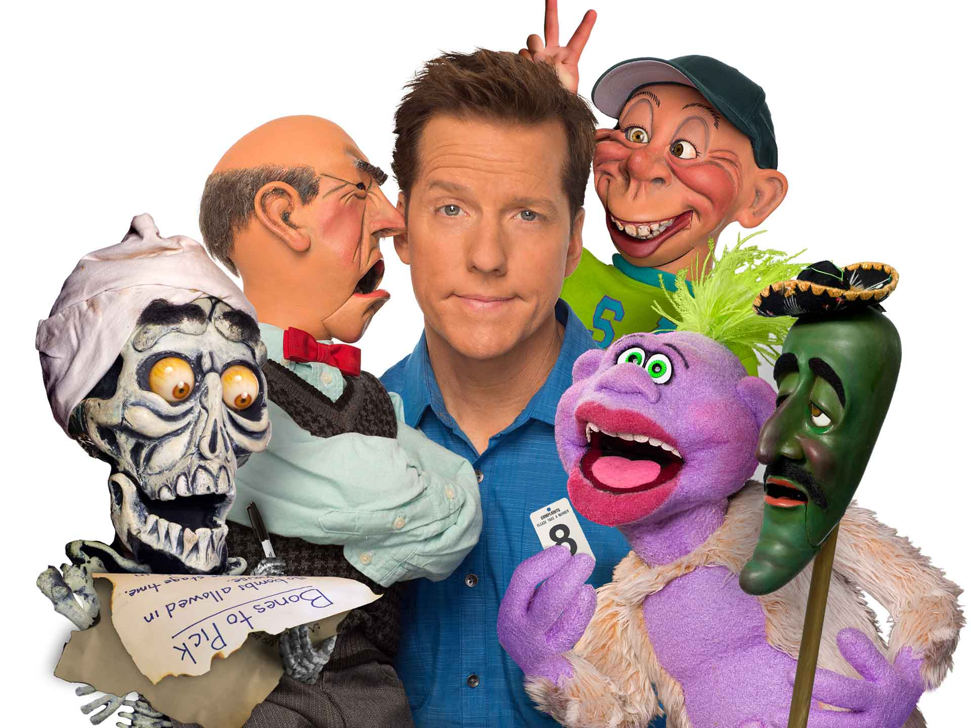 Image for JEFF DUNHAM - Sunday, August 5, 2018 (OUTDOORS)