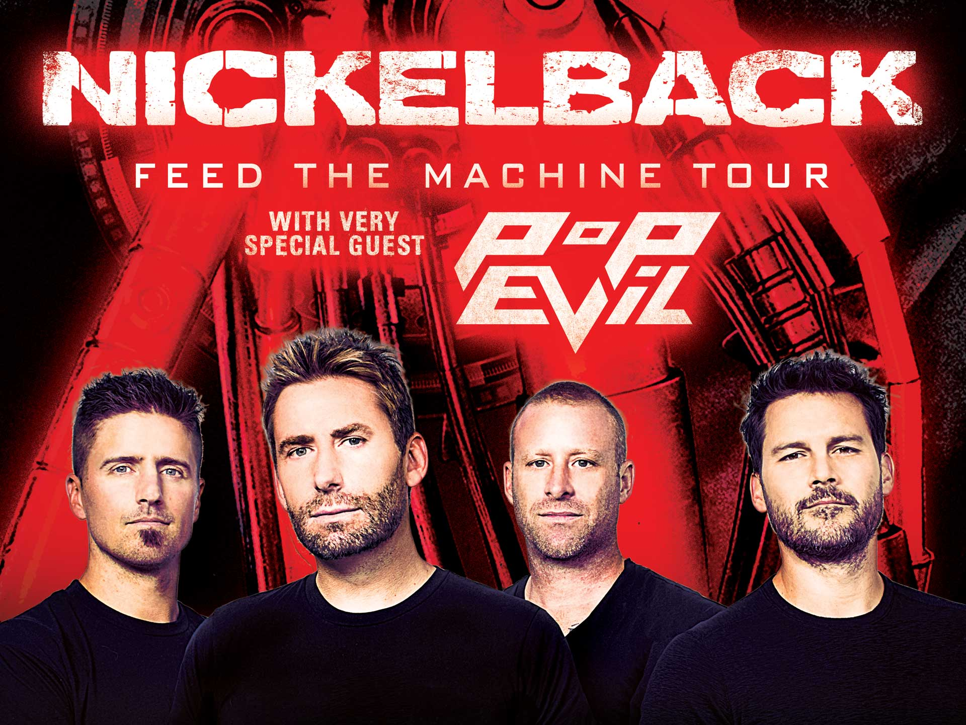 Image for NICKELBACK wsg POP EVIL - Friday, July 20, 2018 (OUTDOORS)