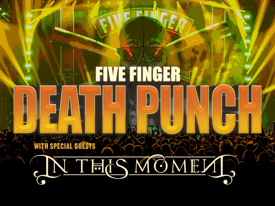 Image for FIVE FINGER DEATH PUNCH wsg In This Moment and Fire From The Gods - Saturday, July 13, 2019 (OUTDOORS)