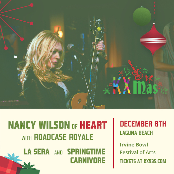Image for KXMas w/ Nancy Wilson of Heart