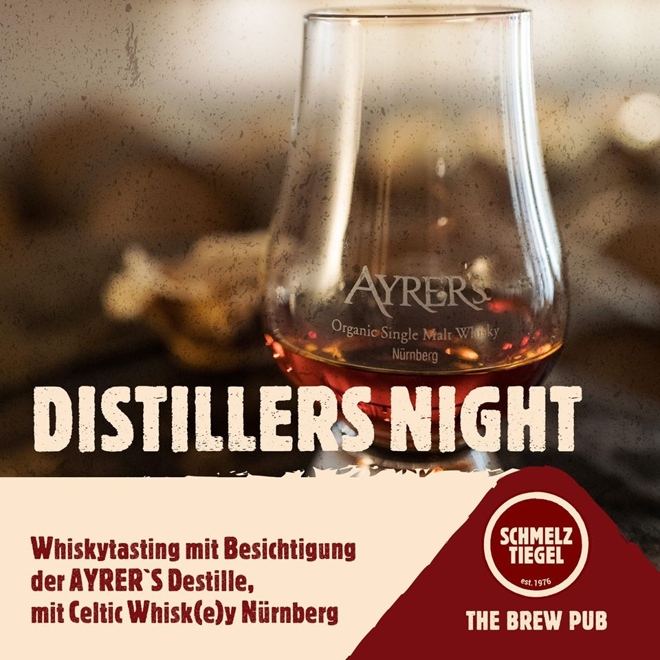 Image for Distiller´s Night - Whiskytasting (Scotch vs AYRERs)