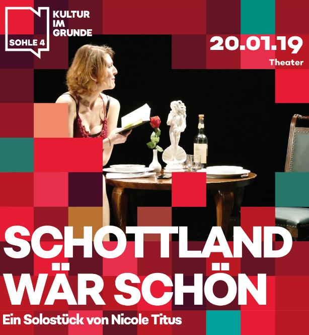 Image for Sohle 4: Schottland wär schön - Ein Solostück von Falco Blome und Nicole Titus