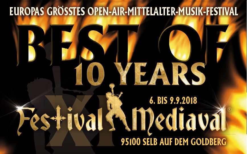 Image for Festival-Mediaval XI in Selb - 4 Tages Ticket vom 06. - 09.09.2018 -