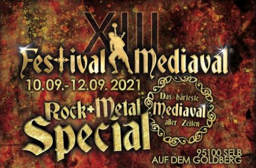 Image for Festival-Mediaval XIII in Selb -  3 Tages Ticket vom 10. - 12.09.2021 -