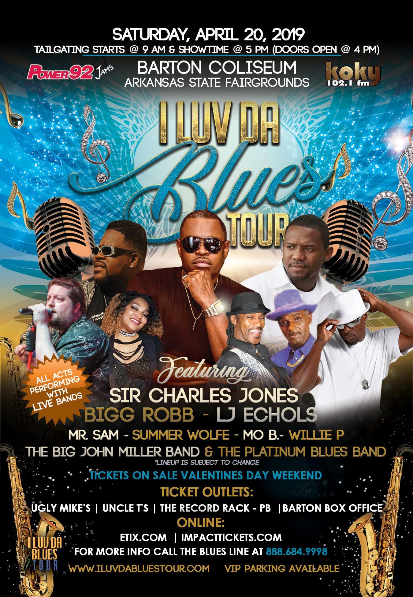 Image for I LUV DA BLUES TOUR